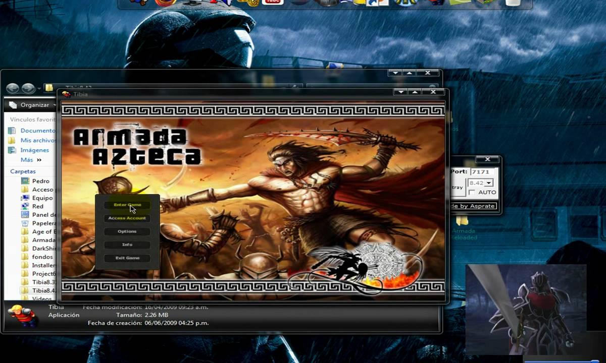 ot server 8.60 armada azteca