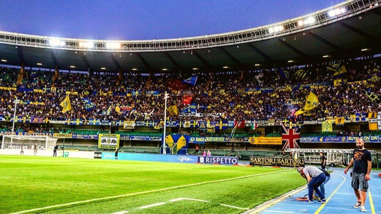 Hellas Verona Fans - ULTRAS AVANTI - YouTube