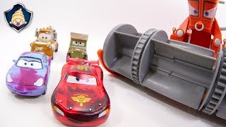 Download Disney Cars toys Lightning McQueen,Franck & Ramone Paint shop Color Changers Playset movie for Kids Mp3 and Videos