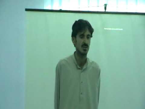 sohail presentation in BTC islamabad