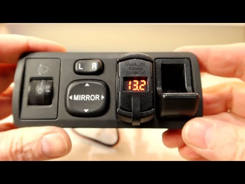 How To Install An USB QC 3.0 In A Toyota Corolla Verso Or Any Car