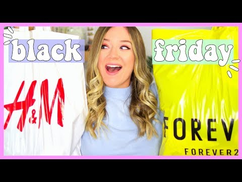 MIDSIZE BLACK FRIDAY TRY ON HAUL!