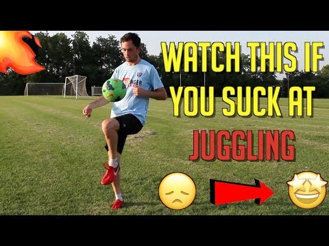 WATCH THIS IF YOU SUCK AT JUGGLING  1,000 TOUCH SKILL TRAINING