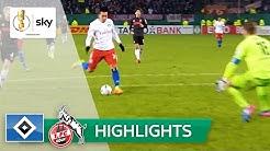 Hamburger SV - 1. FC Köln 2:0 | Highlights DFB-Pokal 2016/17 - Achtelfinale
