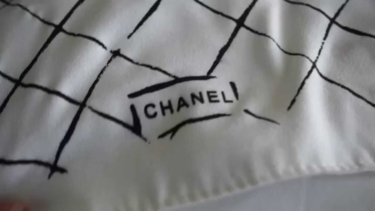 a2948165bdbe How to spot a fake Chanel bag classic flap jumbo purse review - YouTube