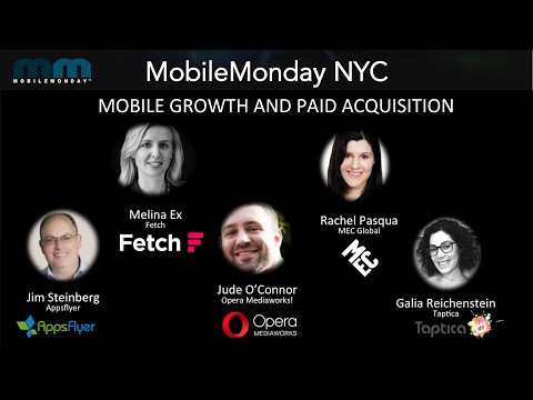 2016 July 11 - MobileMonday NYC - Mobile Growth and Paid Acquisition Best Practices
