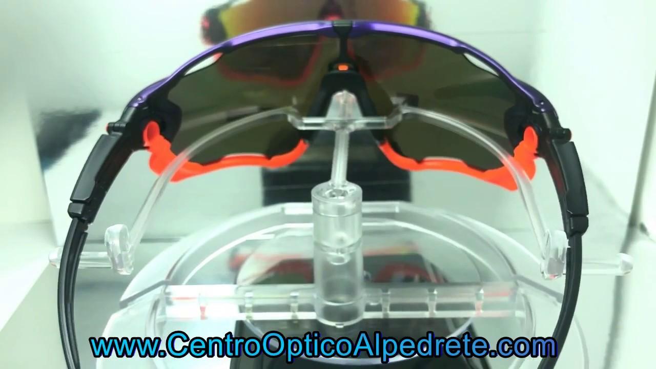 c93858d460 Oakley Jawbreaker Purple Pop Fade / Prizm Ruby (OO9290-30) - YouTube