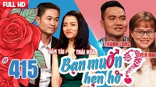 WANNA DATE #415 UNCUT| Hai Phong and Bac Giang - Can't cook because of scaring of knife