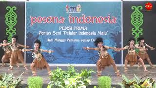 Tari Papua Pesona Indonesia TMII