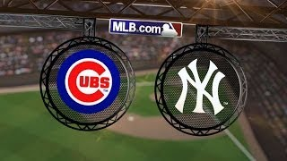 4/16/14: The Yankees' staff shuts out the Cubs again