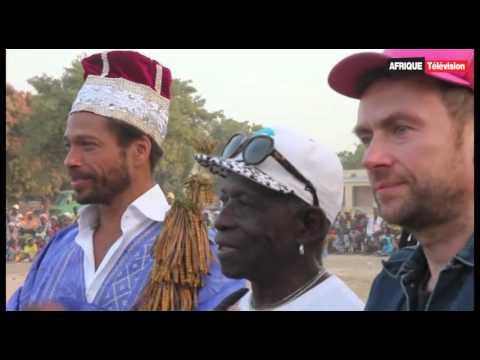 L'ex-leader de Blur Damon Albarn au Festival Acoustik Bamako