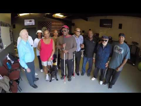 The Blind Center of Nevada Fitness Program: Spotlight Derris Hunt