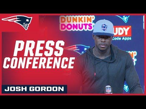 Josh Gordon on his Patriots debut