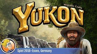 Yukon — game overview at SPIEL '18
