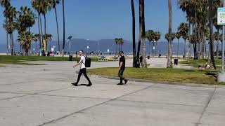Test out new samsung galaxy s9+ at venice beach