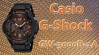 Стильные мужские часы Casio G-Shock GW-3000B-1A. Купить оригинальные часы в Москве(, 2015-04-04T19:23:40.000Z)