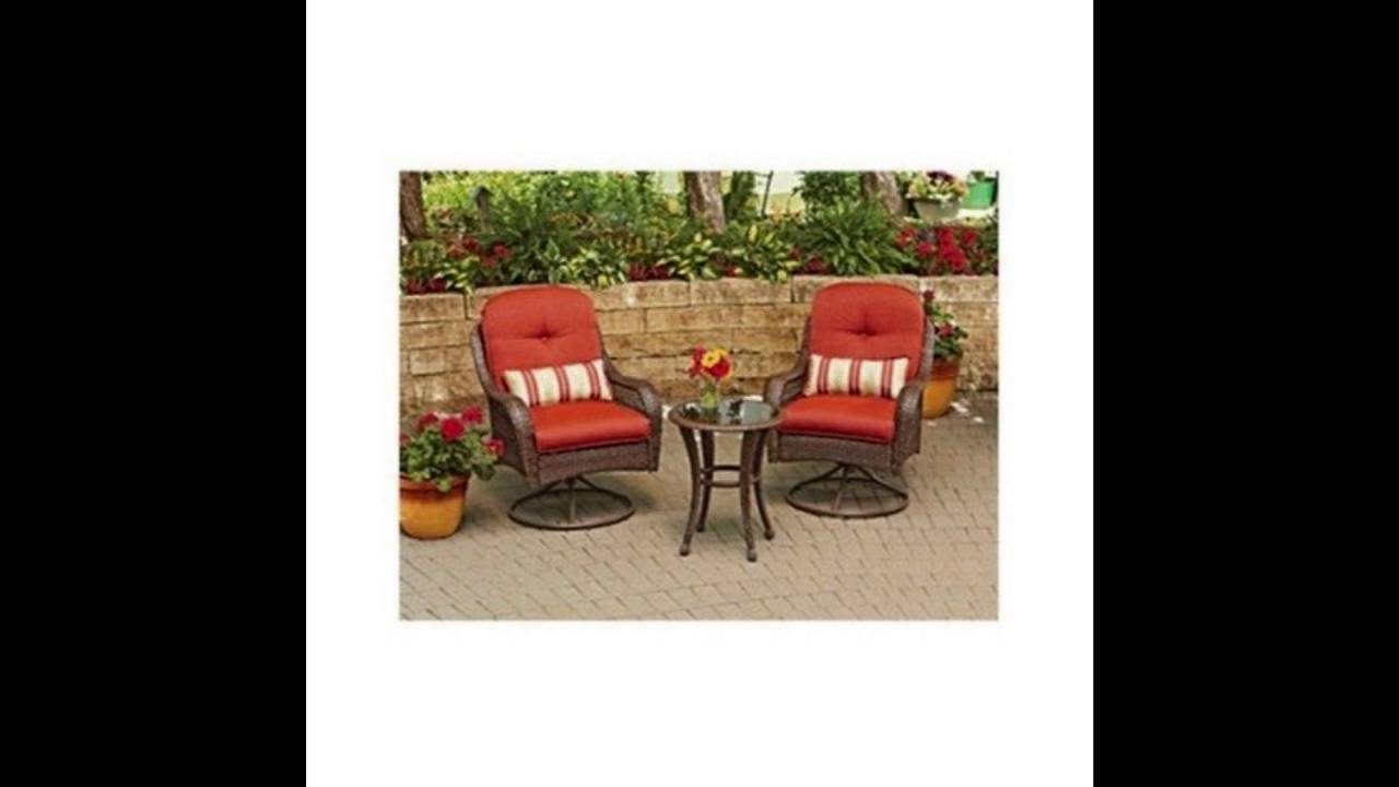 48caa4bc4030 3 Piece Outdoor Bistro Set is Perfect For Small Spaces Like A Balcony As  Well As Patio Garden or