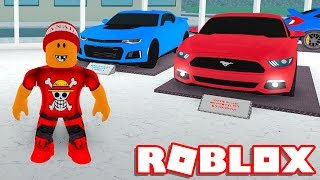 Roblox → MY SUPER CARS! -Roblox Car Dealership Tycoon 🎮