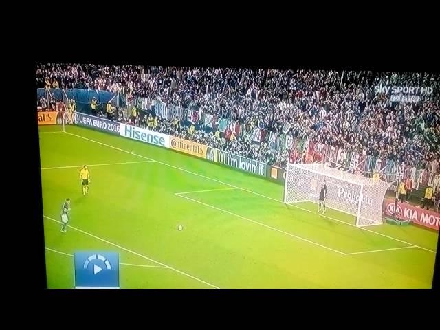Pellé penalty Germany-Italy
