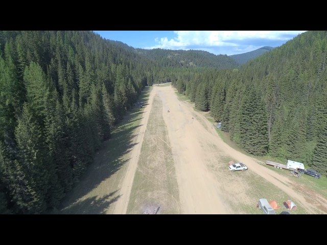Drone Flight: Horsehaven airstrip in the CDA Forest