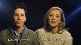 Jordan Gavaris and Evelyne Brochu kick off #OrphanBlackFriday - November 28th @ 12am ET