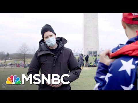 Inside MAGA: The Daily Show's Jordan Klepper On Covering The Capitol Siege | All In | MSNBC