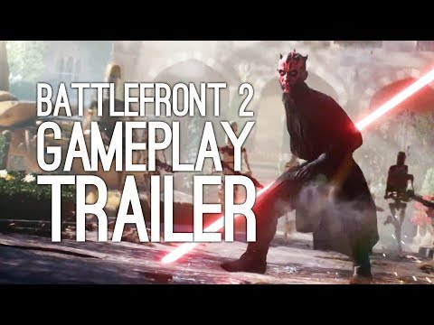 Battlefront 2 Gameplay Trailer: Star Wars Battlefront 2 First Gameplay at E3 2017