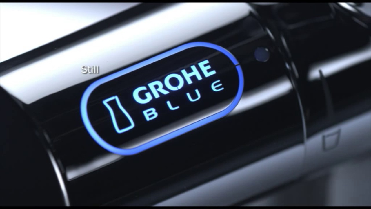 grohe blue pure youtube. Black Bedroom Furniture Sets. Home Design Ideas