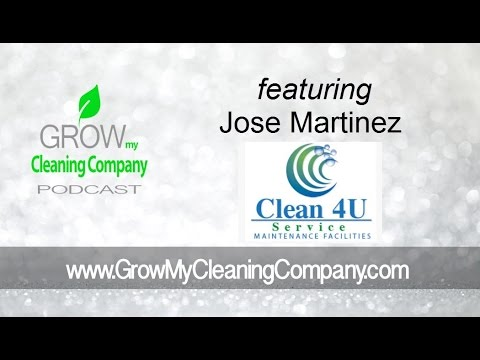 Cleaning Services Pricing featuring Jose Martinez