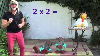 2 X Table - Lesson 2 - The Two Times Table - Multiplication Song Simply For Children - Times Tables
