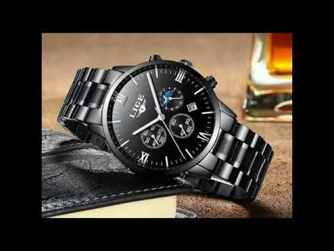 Montre de luxe chronographe pour homme