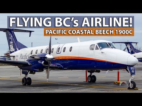 FLYING THE BEECH 1900C! Pacific Coastal Victoria To Vancouver