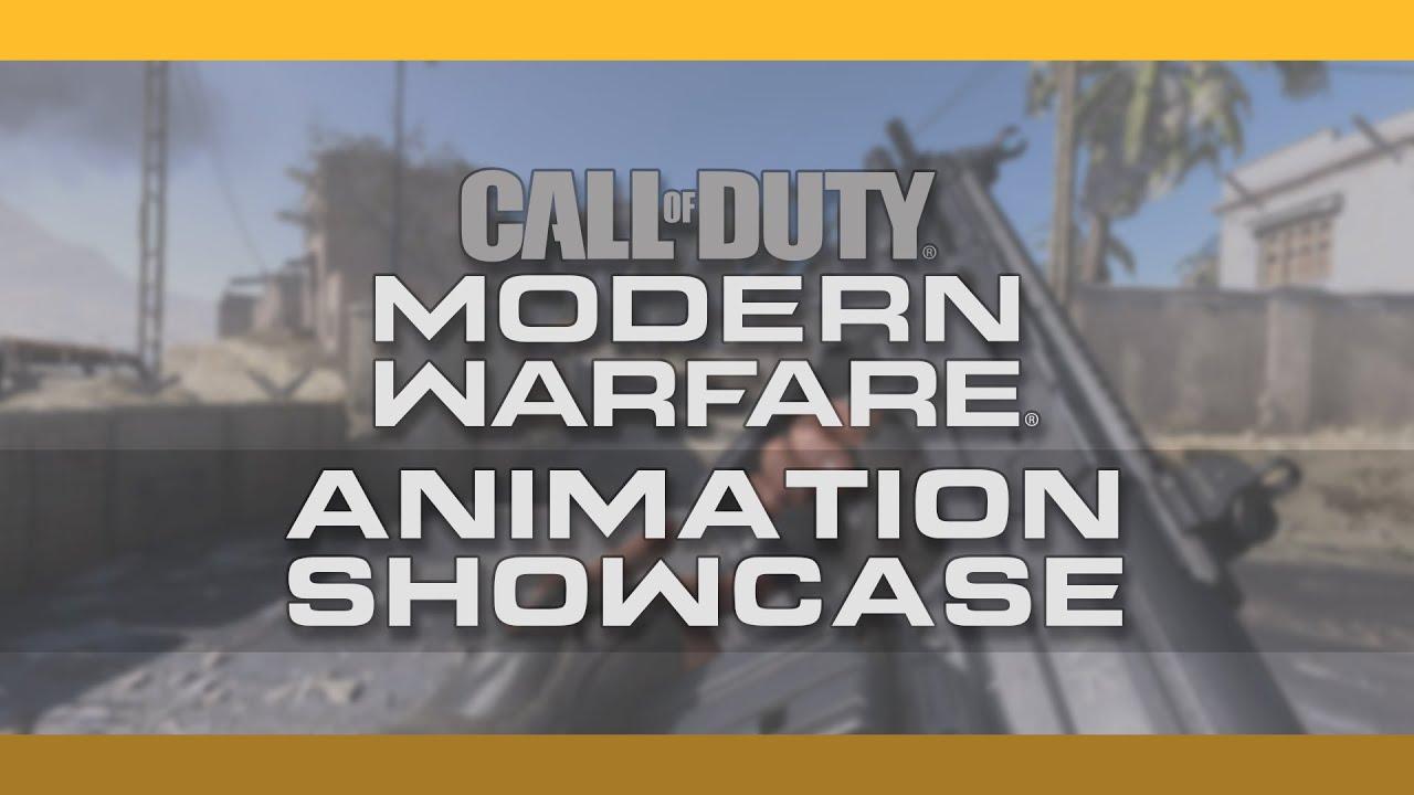 Call of Duty: Modern Warfare Animation Showcase