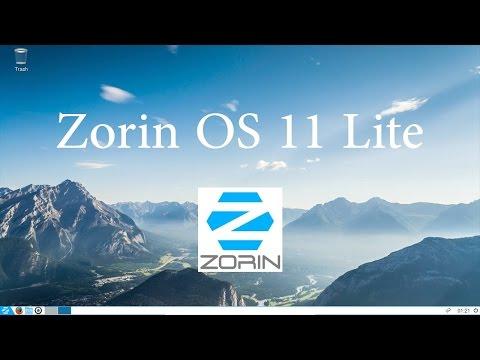 Zorin OS 11 Lite - Легкий и очень быстрый Linux дистрибутив.