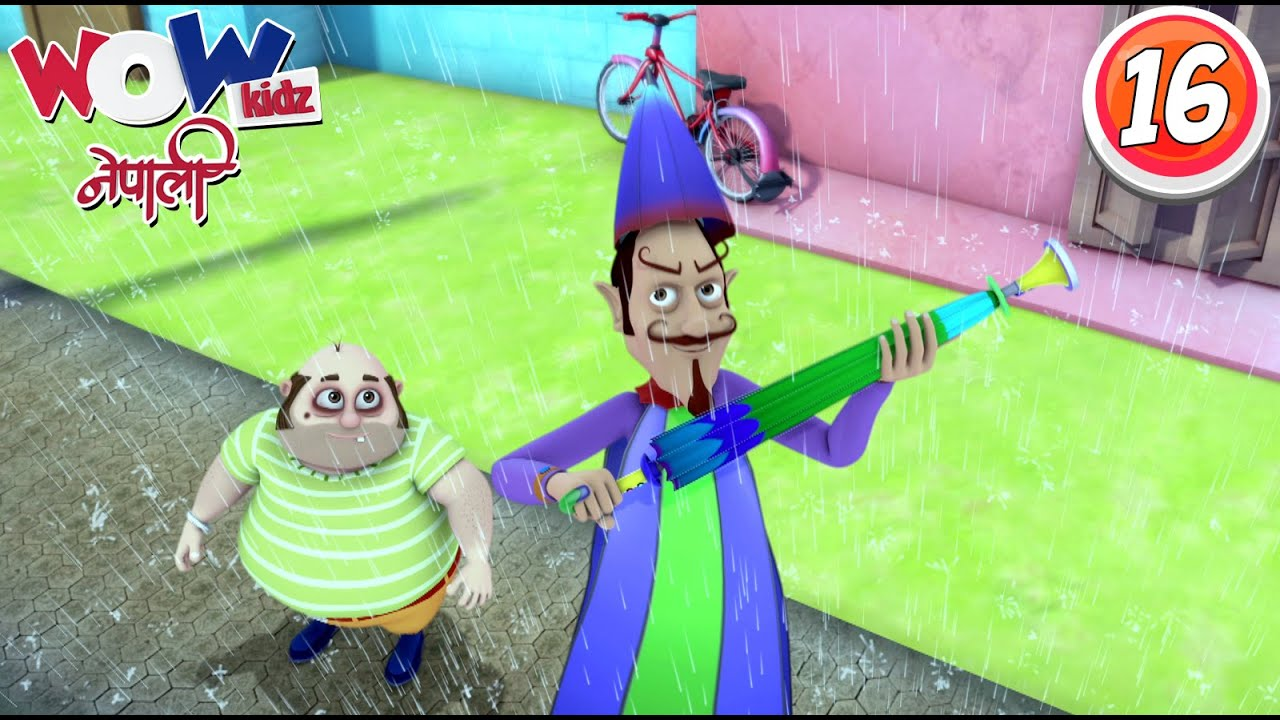 Vir the robot boy | Nepali Cartoon| Umbrella Man | Nepali Story for Kids | Wow Kidz Nepali