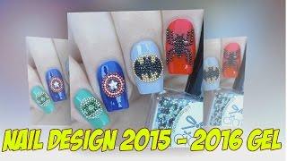 Дизайн ногтей 2015   2016 гель  Рисунки на ногтях