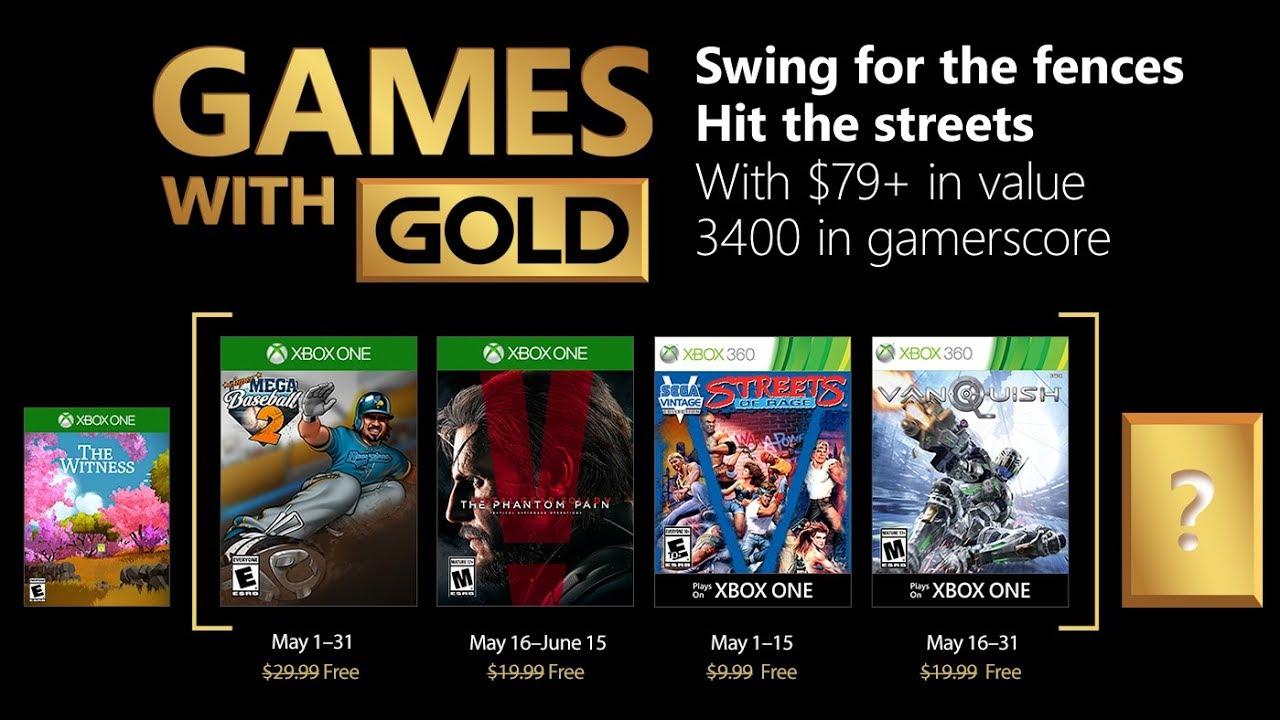 Juegos Con Gold Xbox One Y Xbox 360 Mayo 2018 Youtube