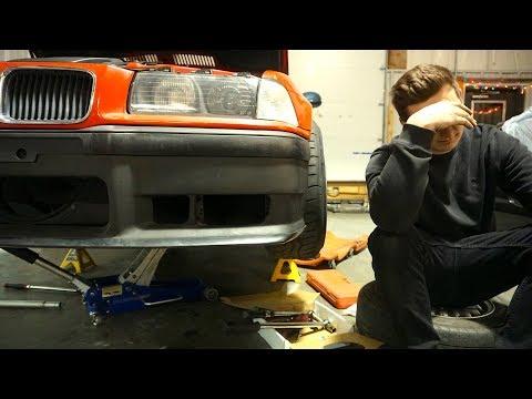 BMW BUILD ROOKIE MISTAKE.