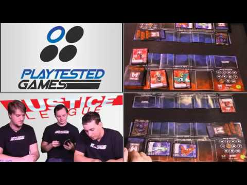 Playtested Games   MetaX Justice League