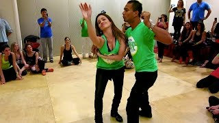 Lidio Freitas & Monique Marculano Freitas - Advanced Zouk Variations - Boston Brazil Dance Festival