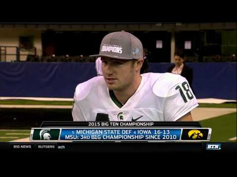 Connor Cook on Title Game Win and Achieving Goals