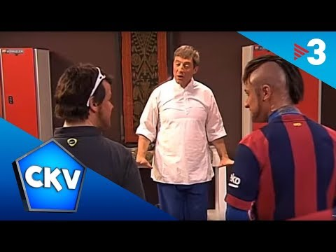Ioga al vestidor del Barça - Crackòvia
