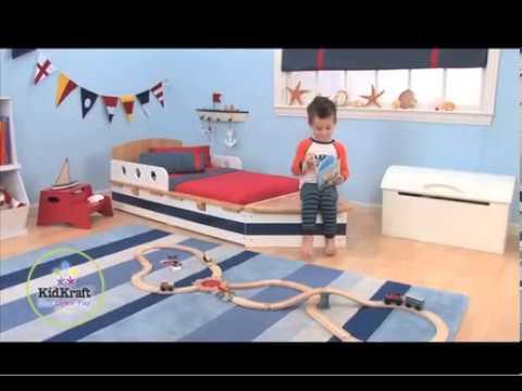lit bateau pour tout petits kidkraft 76253 meubles pour chambres d 39 enfants sur. Black Bedroom Furniture Sets. Home Design Ideas