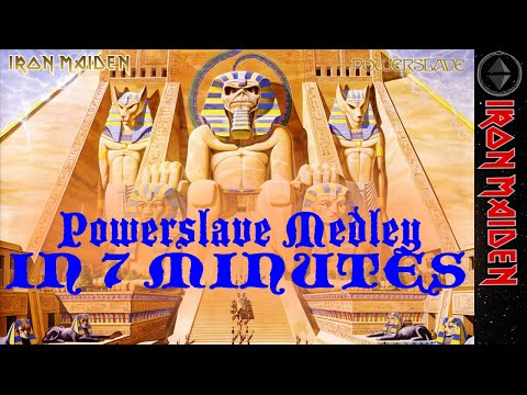 Full Powerslave Album in 7 minutes - IRON MAIDEN - Drums