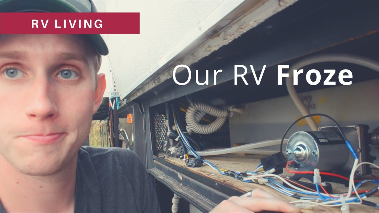rv water pump hook up