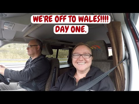 We're off to Wales!! Heading for Saint Davids. Wales campervan trip. Sept - 2017.