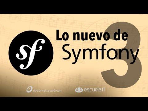 Qué hay de nuevo en Symfony 3 #programadorIO