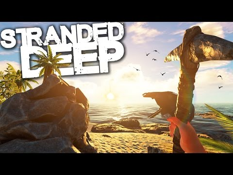 Stranded Deep | Survival Part 19 | WE KILLED A GREAT WHITE SHARK!! (Experimental)