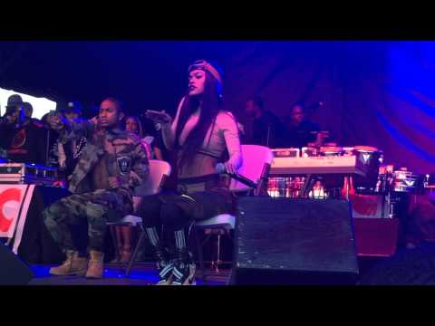 Teyana Taylor Performs 'Do Not Disturb' at Mecca Fest in Washington DC