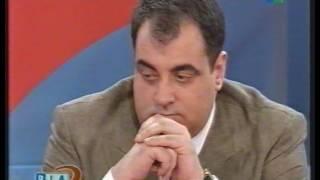 Carlos Melconian defiende convertibilidad con Lanata 1997 Dia D